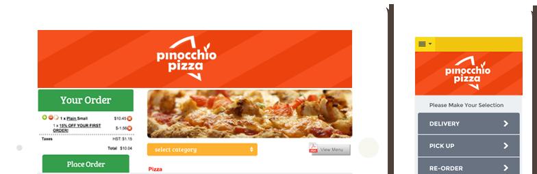 online ordering system for restaurants menu ca